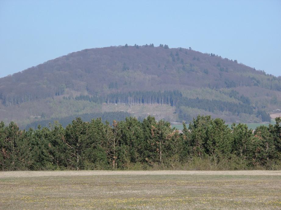 Blick vom Graner Berg zum Isthaer Berg