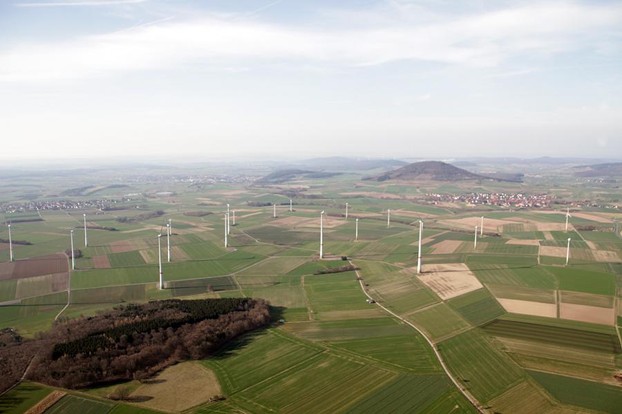 Ökologische Energieversorgung / Windpark